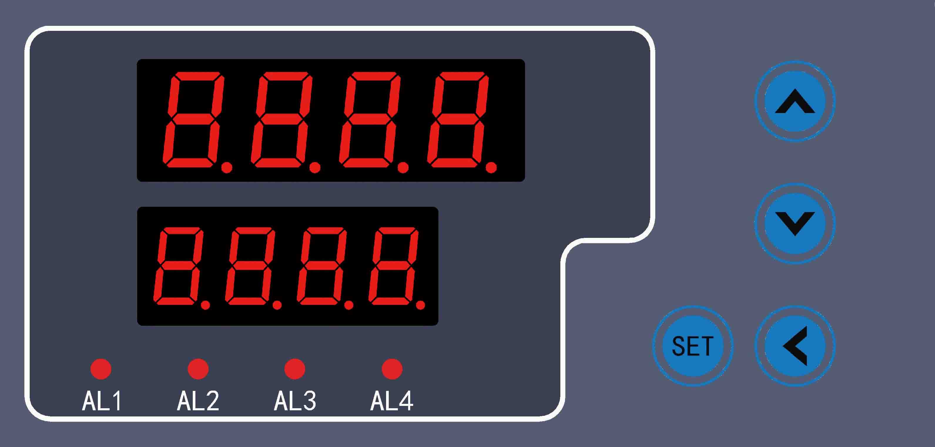 XSK系列单通道热工表